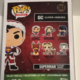 Superman in Holiday sweater Funko pop Vinyl #353