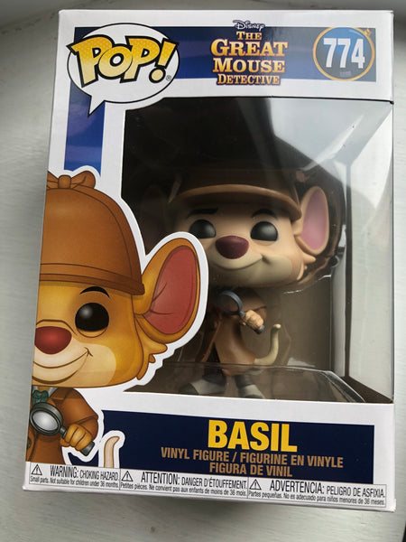 The Great Mouse Detective Basil Pop! Vinyl #774