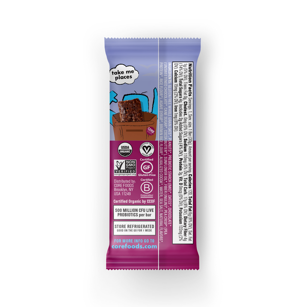 Fudgy Chocolate Brownie, 10 Bars (2 Boxes) - REFRIGERATED