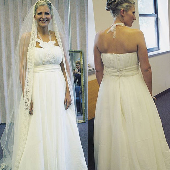 Handmade & Designed Wedding Dress | Megan Fenno