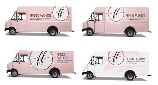 Fashion Truck Wrap Graphics | Getting the mobile boutique wrapped | Megan Fenno | FENNO FASHION