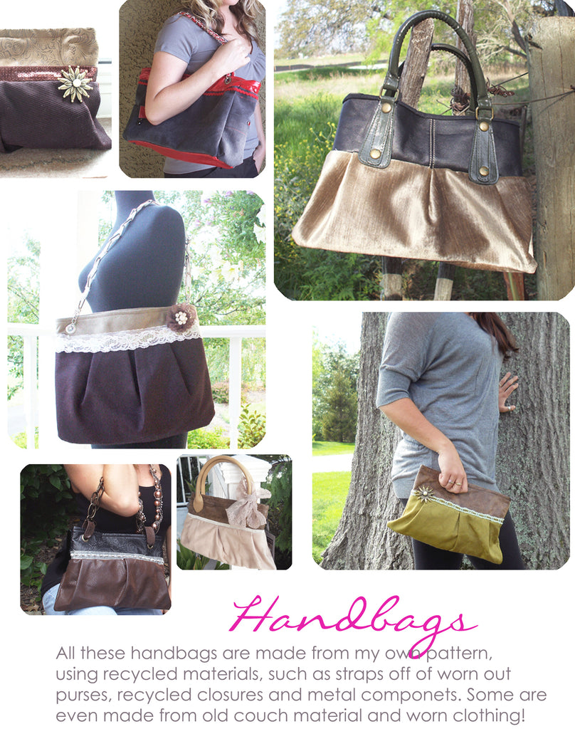 U.R.E.C. handmade handbags | Megan Fenno | FENNOfashion