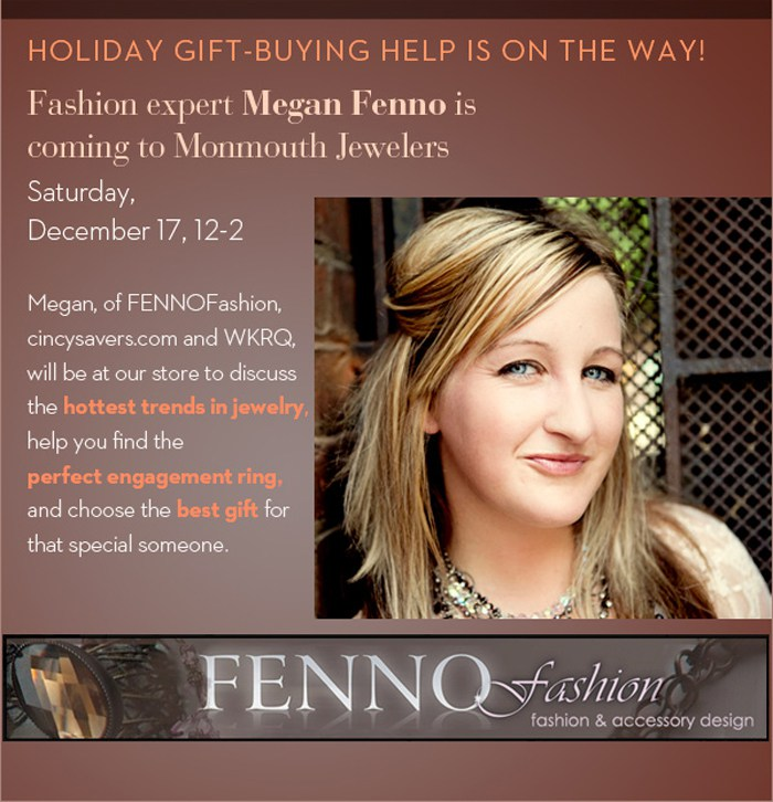 Megan Fenno | Monmoth Jewelers Newport KY | Cincysavers | WKRQ Cincinnati