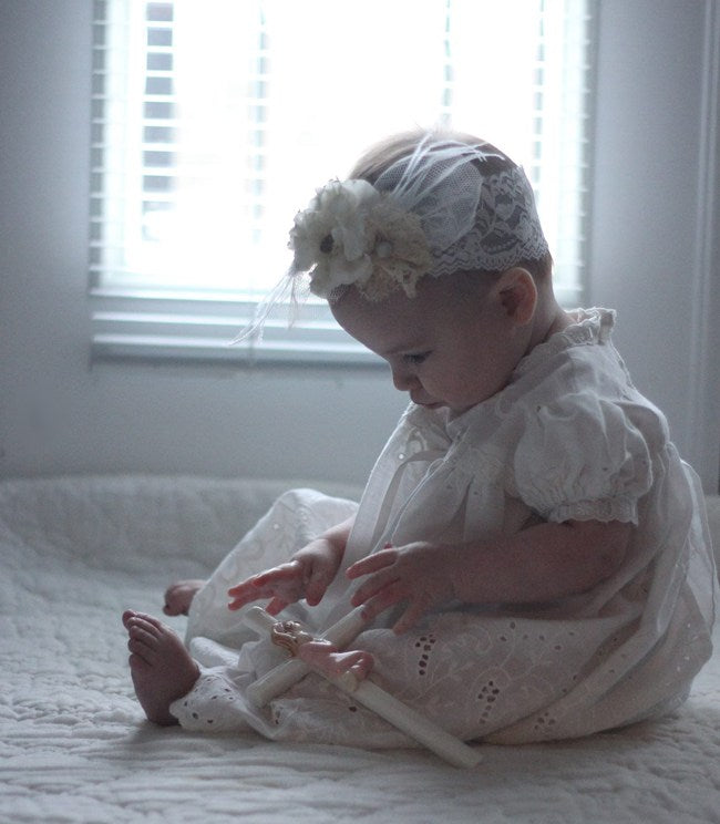 DIY: A SENTIMENTAL HEADBAND FOR ONE ADORABLE BABY GIRL | MEGAN FENNO | FENNOfashion