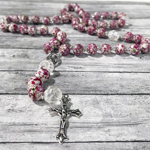 Remembrance Rosary | Memorial Rosary | Megan Fenno | FENNO FASHION | Cincinnati | Handmade Rosary