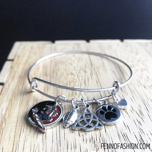 Florida State Jewelry | FSU Jewelry | Florida State Custom Bangle Bracelet | Megan Fenno | FENNOfashion