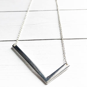 Block Letter L Initial Necklace | Megan Fenno | FENNOfashion