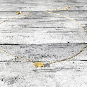 Mothers Day Necklace | Momma & Baby Bear Necklace | Momma Bear Necklace | FENNO FASHION | Megan Fenno