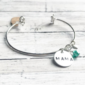 Mama Bracelet | Custom Initial Jewelry  | FENNO FASHION | Megan Fenno