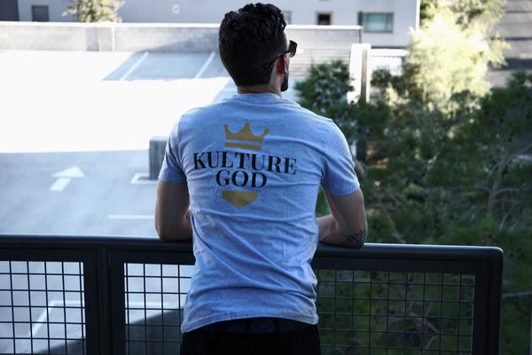 KULTURE GOD CROWN T SHIRT