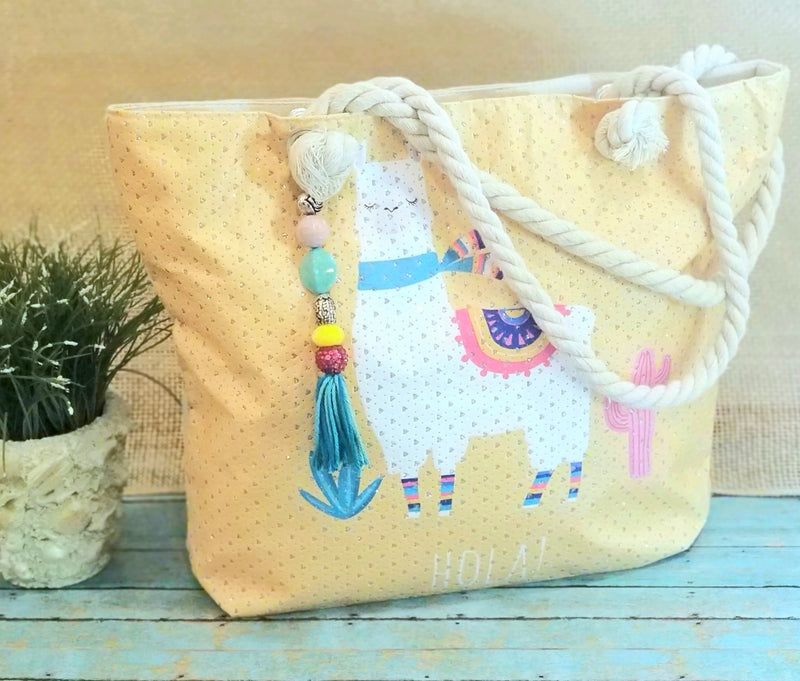 Beach bound Llama bag - Rebelle Tree