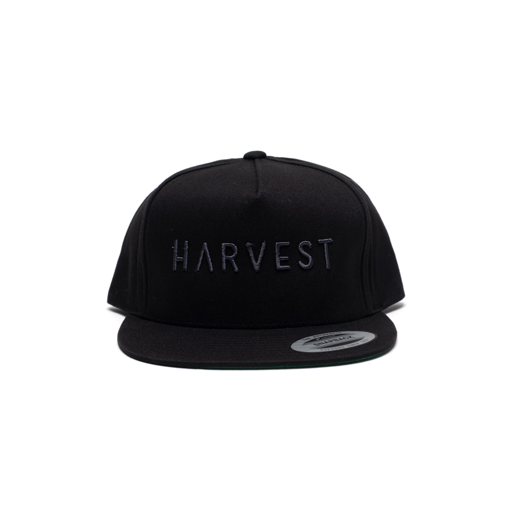 Snapback Cap with Tonal Puff Embroidery