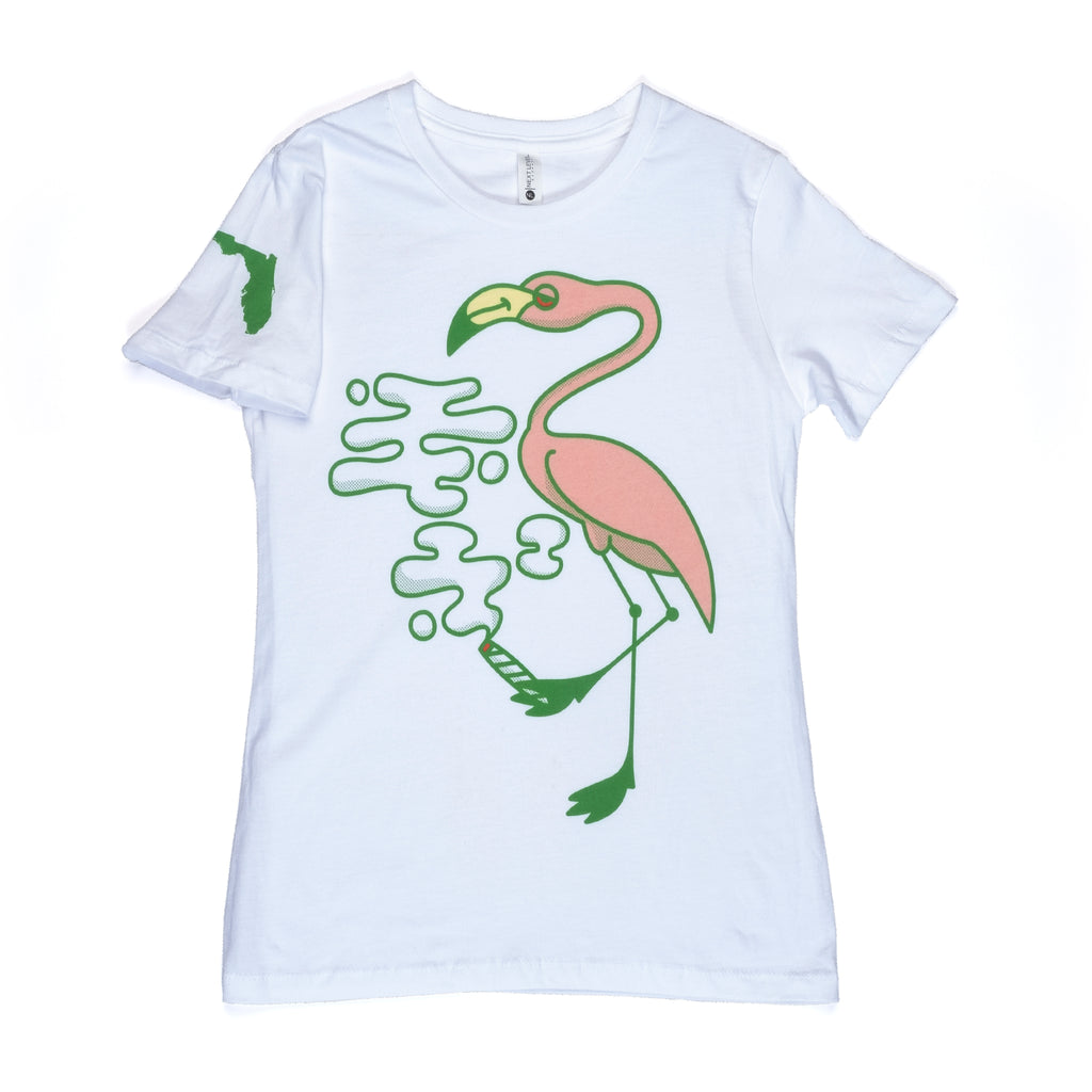Women's Florida Flamingo Tee