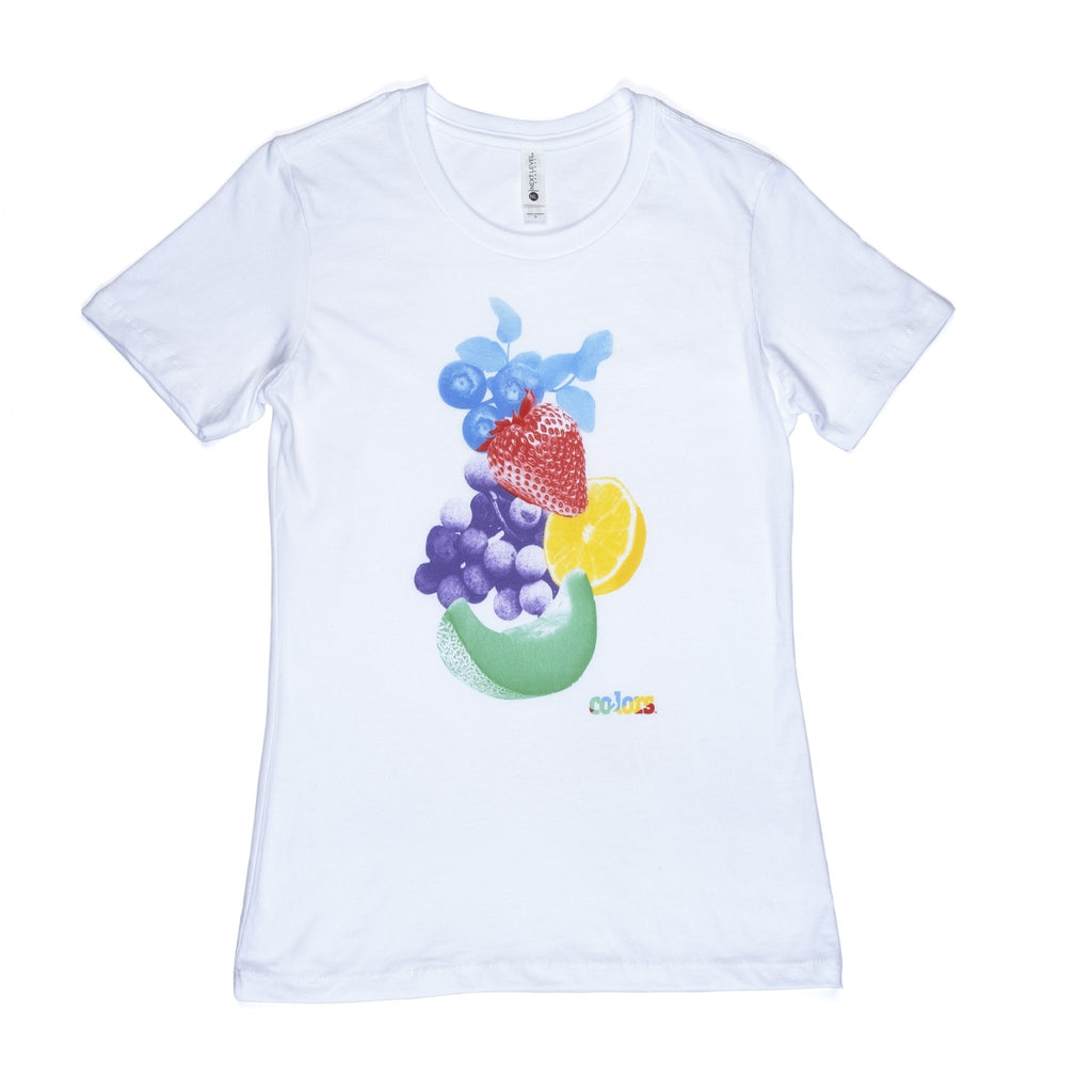 Women's Co2lors Cotton Fruit Tee