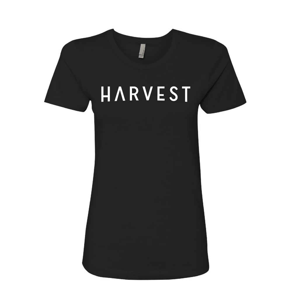 Women's Harvest Tee Black