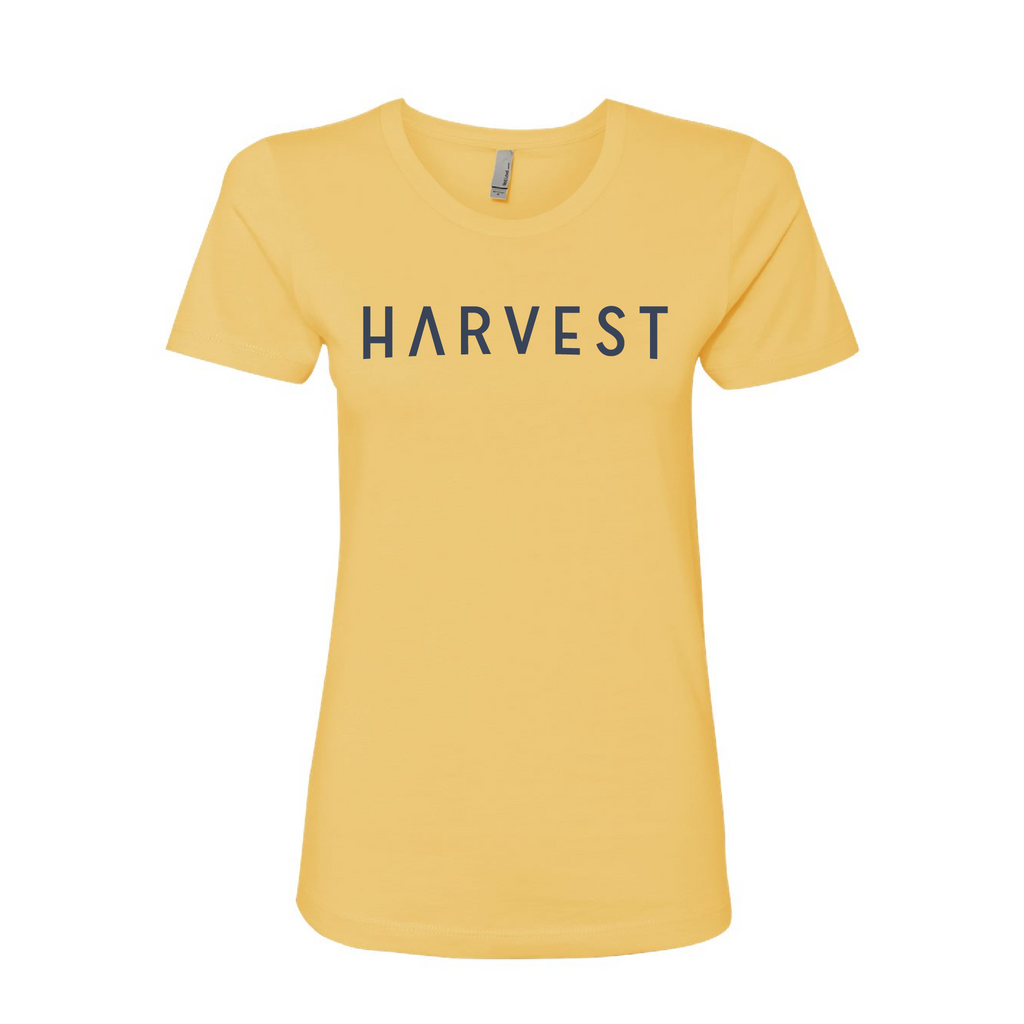 Women's Harvest Tee Yellow