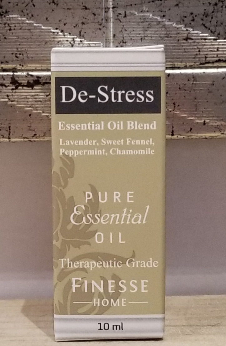 Finesse Therapeutic Essential Oil Blend - De Stress