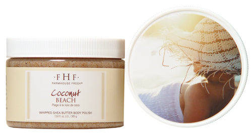 FHF Coconut Beach Whipped Shea Butter Body Polish
