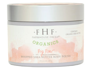 FHF Big Bare Organic Whipped Shea Butter Body Polish