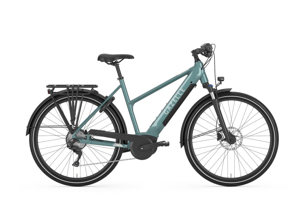 Gazelle Medeo T10 HMB - Mid step Ebike Gazelle Mid-step 45cm-18in Jeans