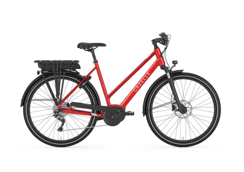 Gazelle Medeo T9 HMB - Low step Ebike Gazelle Low-step 45cm-18in champion red