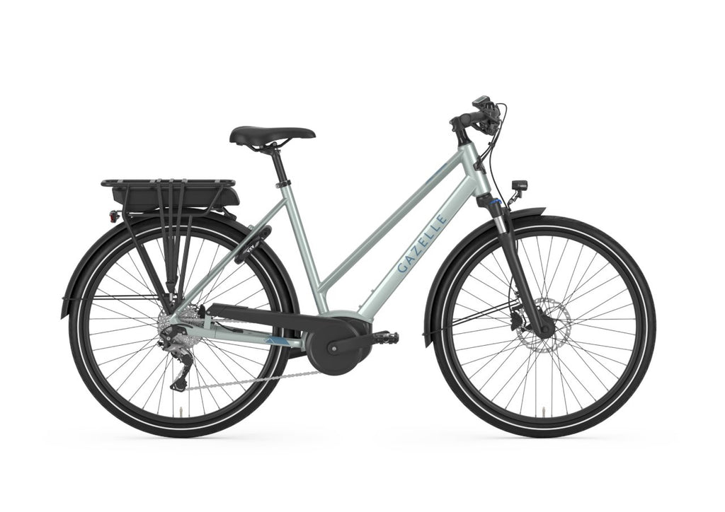 Gazelle Medeo T9 HMB - Low step Ebike Gazelle Low-step 45cm-18in iced blue