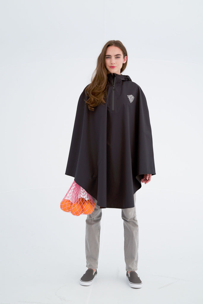 Cleverhood Rover Rain Cape Rain Cape Cleverhood Tall Galactic Black