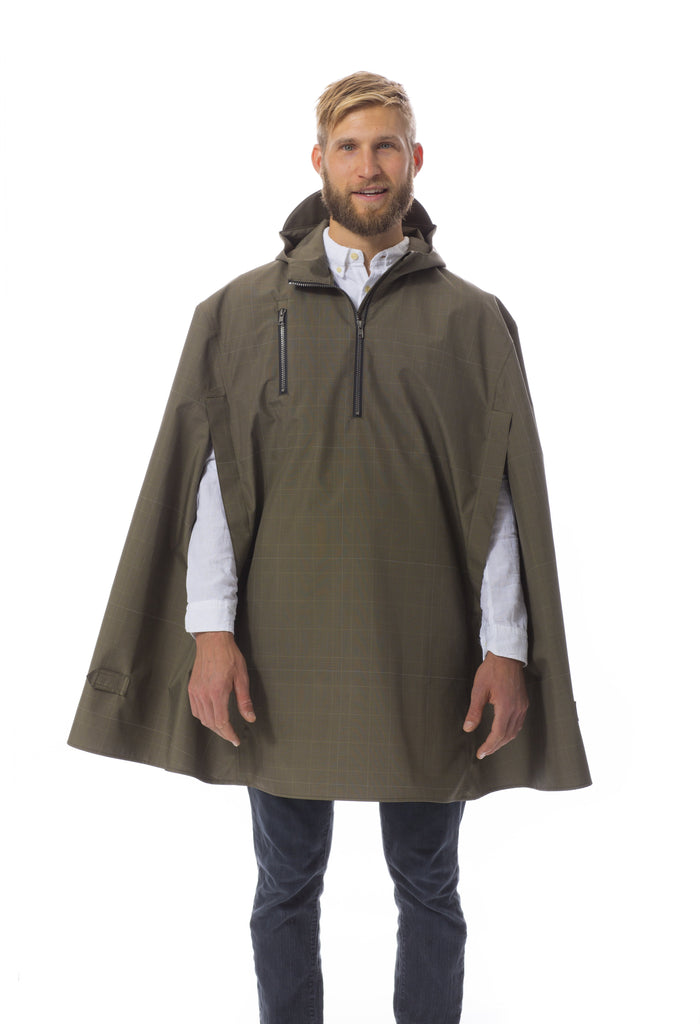 Cleverhood Electric Glen Rain Cape Rain Cape Cleverhood Green