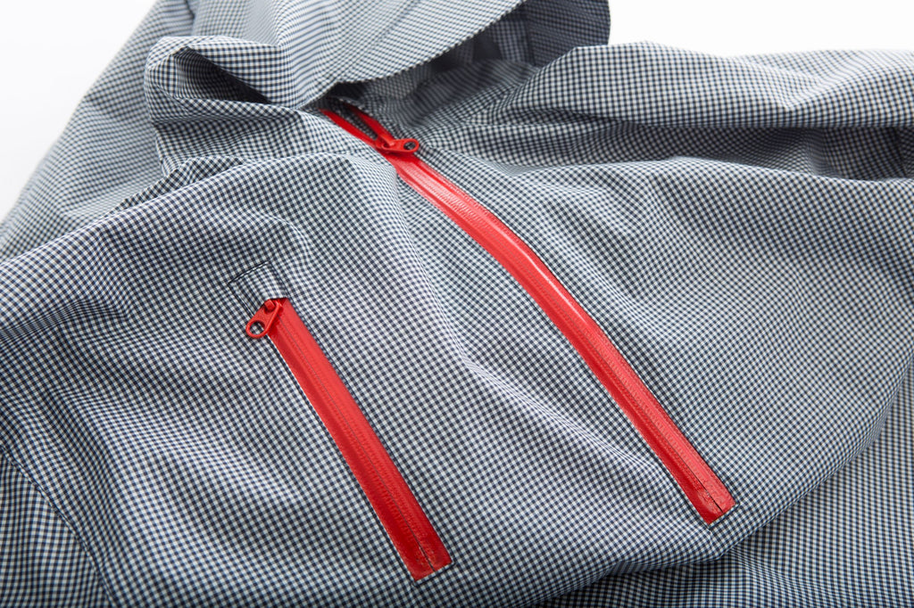 Cleverhood Electric Gingham Waterproof Rain Cape Rain Cape Cleverhood