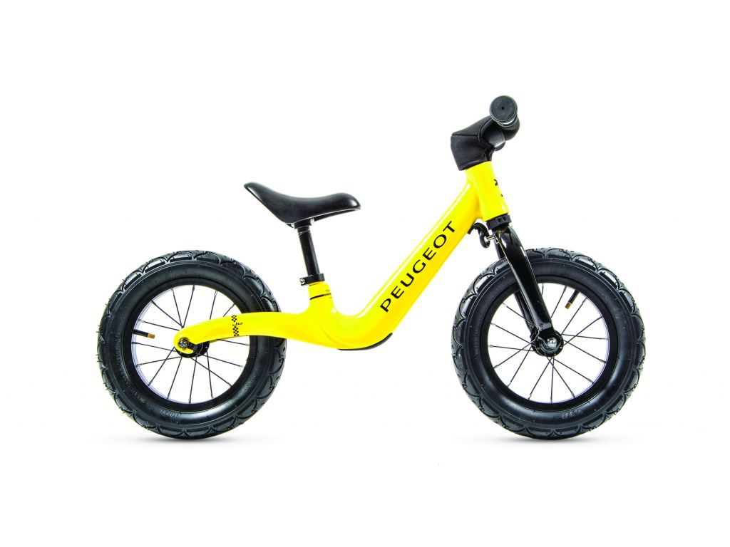 Peugeot Balance Bike J12 non electric Peugeot Yellow