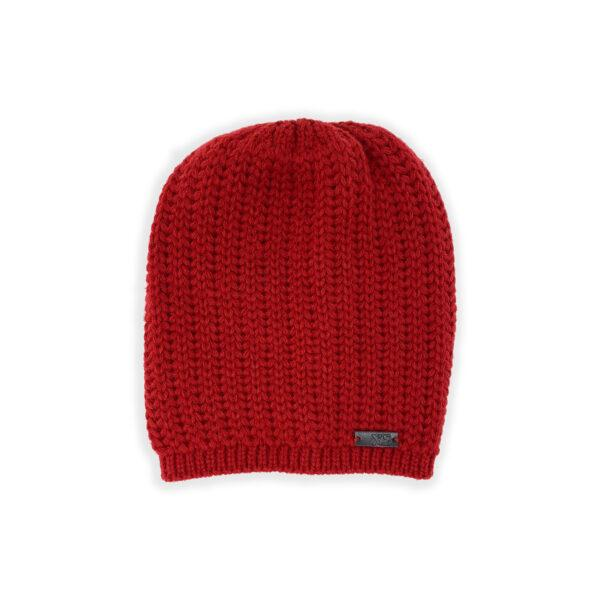 XS Unified Hand Knit Slouch Beanie Clothing XS Unified Crimson