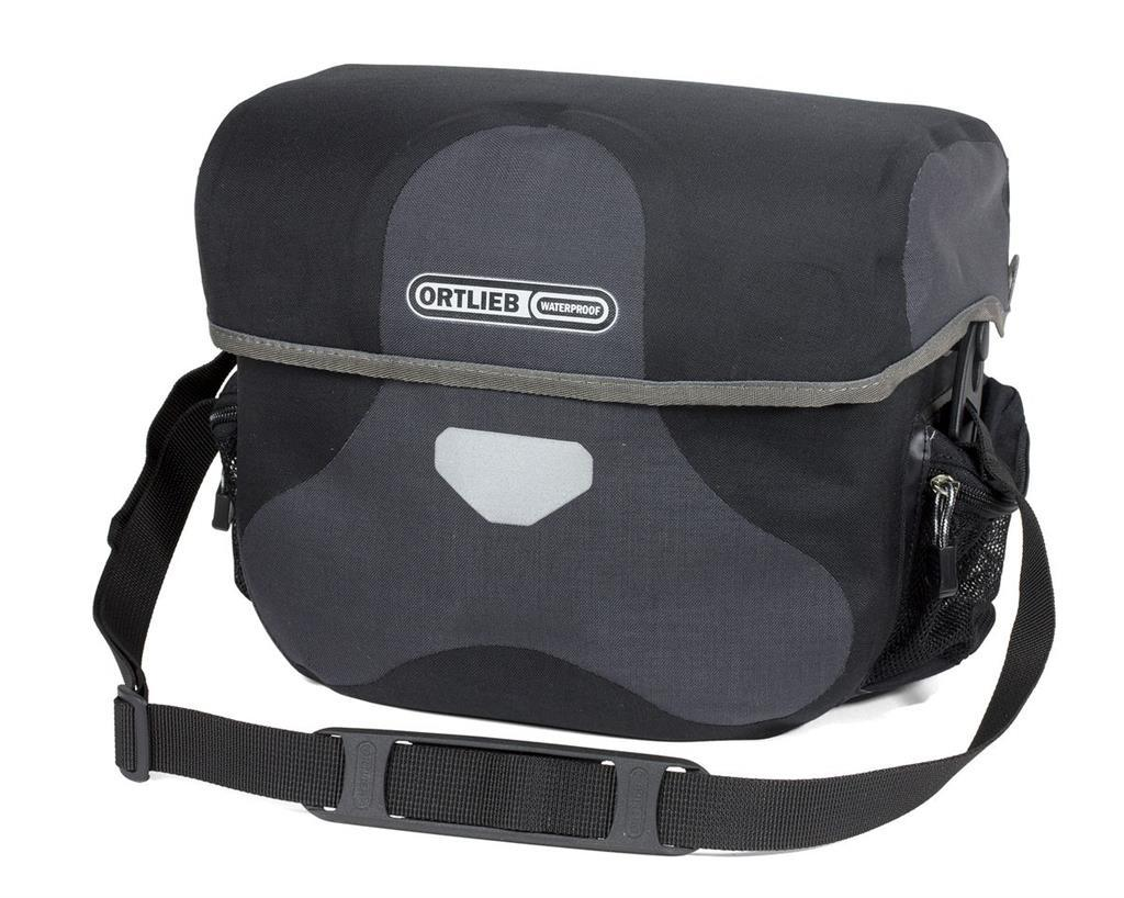 ORTLIEB HANDLEBAR BAG ULTIMATE6 L PLUS GRANITE/BLACK 8.5L Bag Ortlieb