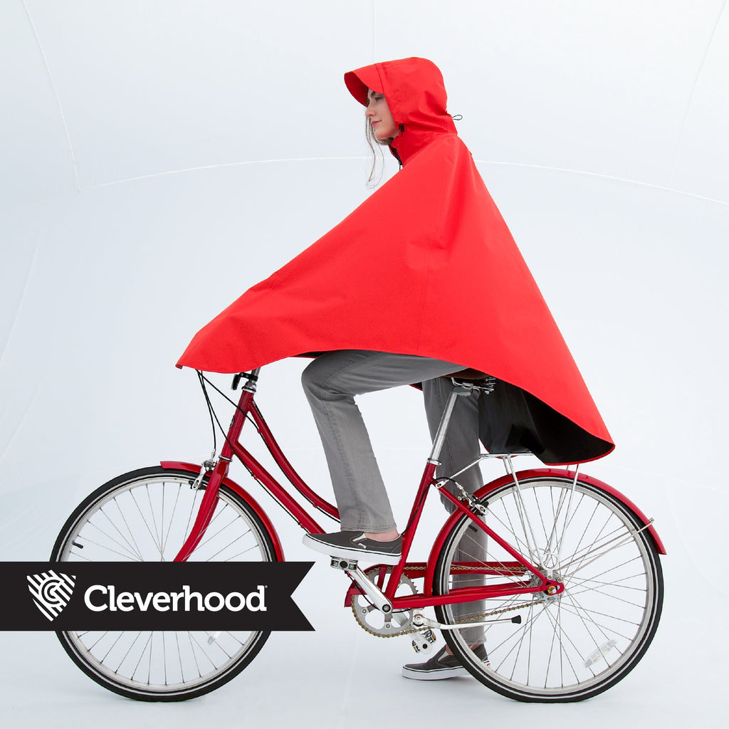 Cleverhood Rover Rain Cape Rain Cape Cleverhood Tall Randy Red