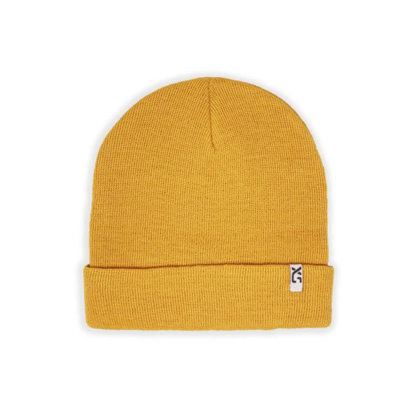XS Unified Wool Cuffed Beanie Clothing XS Unified Mustard