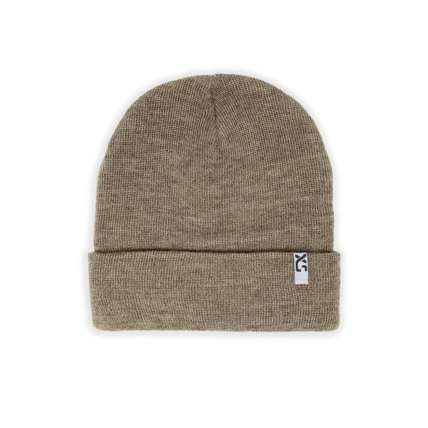XS Unified Wool Cuffed Beanie Clothing XS Unified Oat heather