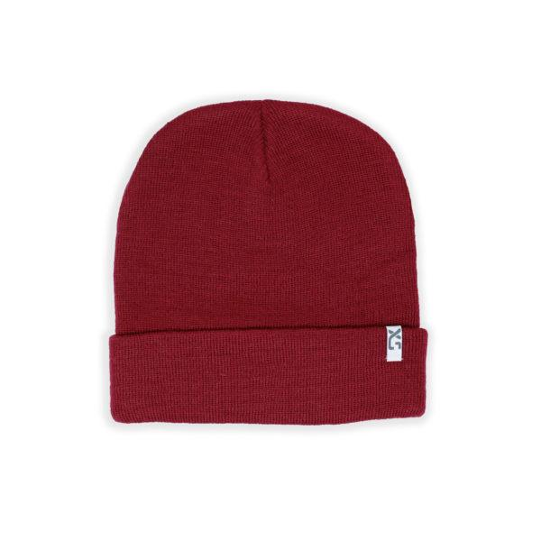 XS Unified Wool Cuffed Beanie Clothing XS Unified Red