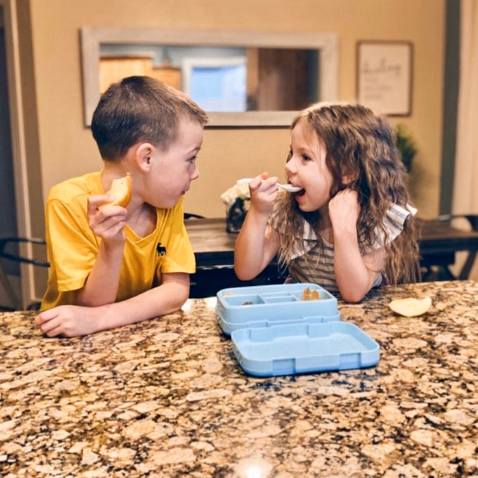 Kelsey Prahl's Kids are Obsessed with the Zulay Kids Bento Box!