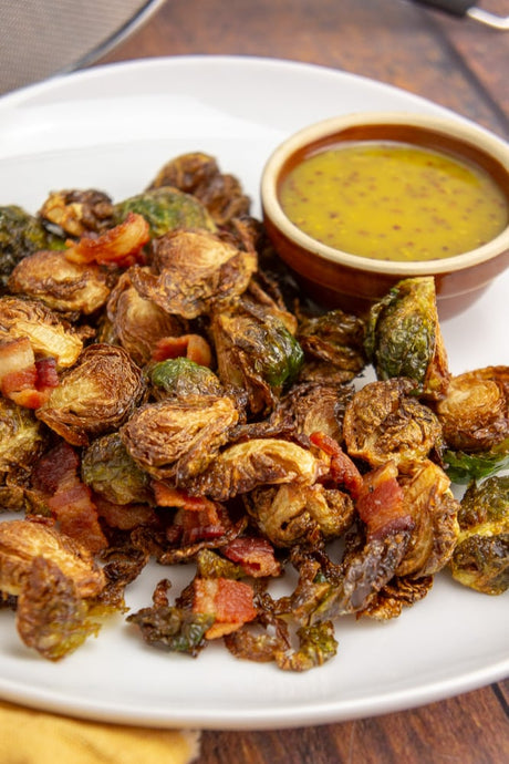 Deep Fried Brussel Sprouts with Bacon Recipe