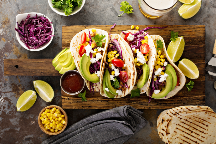 Beef Tacos with Red Cabbage