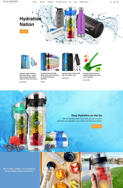 Hydration Nation Page