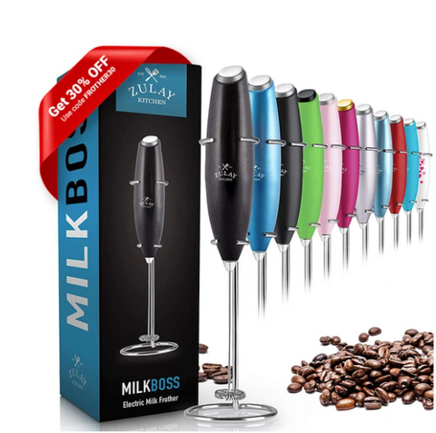 Black Milk frother to Froth Milk