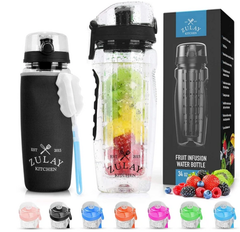 water bottle with fruit infuser wholesale
