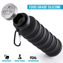 Load image into Gallery viewer, Portable Water Bottle Collapsible and Foldable Design - Zulay Kitchen