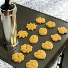 Load image into Gallery viewer, Classic Cookie Press with 20 Decorative Stencil Discs and 4 Icing Tips - Zulay Kitchen