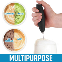 Load image into Gallery viewer, Zulay PRO Milk Frother With Upgraded Holster Stand - Battery Operated Frother For Coffee, Lattes, Matcha & More