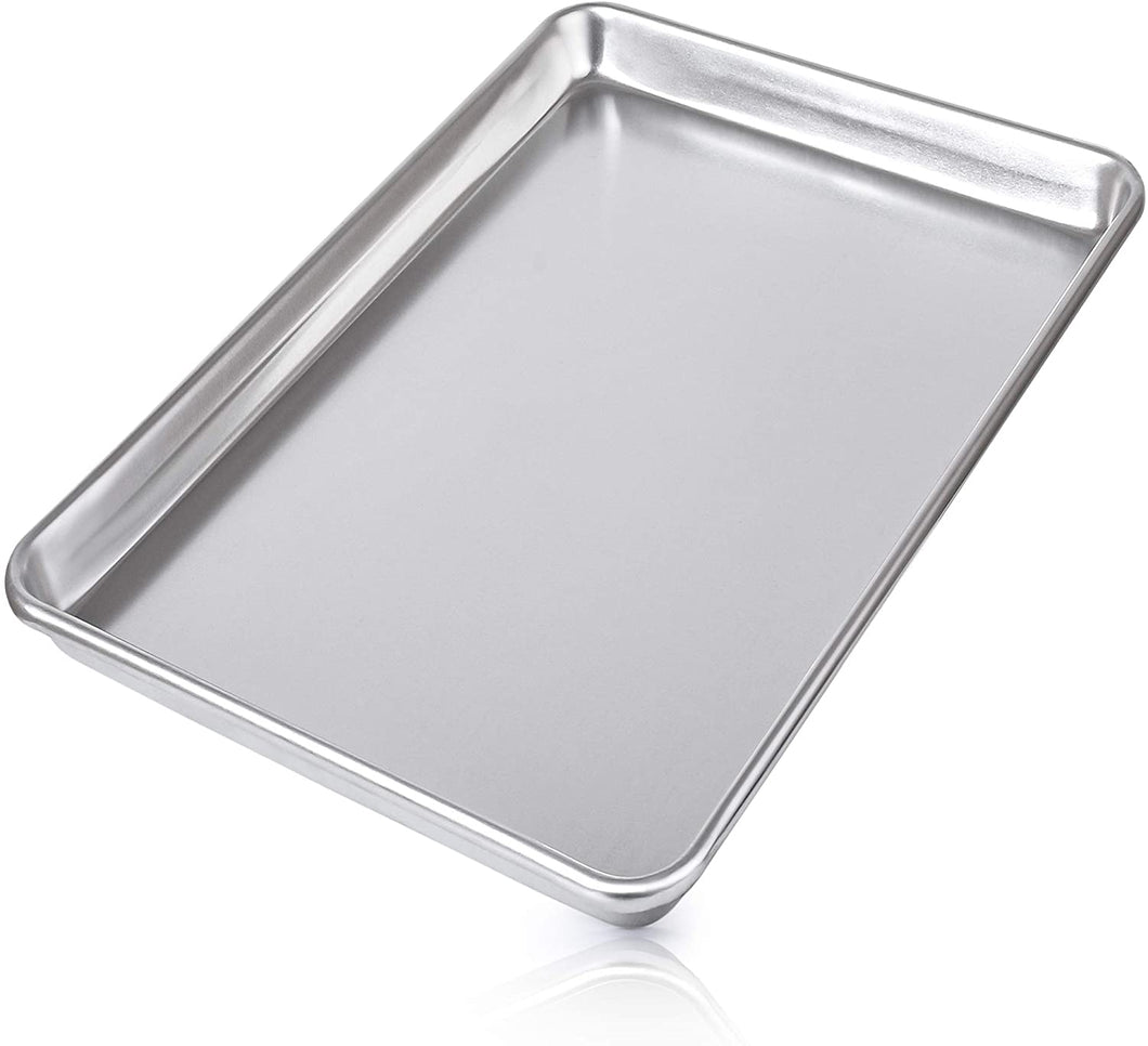 Large Aluminum Baking Pan For Oven - Half Sheet (13