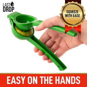 Last Drop Premium Single Bowl Metal Lime Squeezer