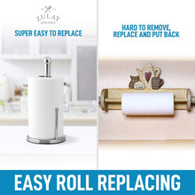Load image into Gallery viewer, Paper Towel Holder for Standard & Large Sized Rolls