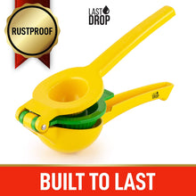 Load image into Gallery viewer, Last Drop Premium 2-in-1 Easy to Squeeze Lemon Lime Squeezer