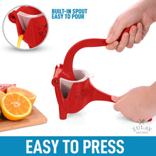 Load image into Gallery viewer, Pomegranate Manual Juicer- Heavy Duty Juice Press Squeezer with Detachable Lever & Removable Strainer